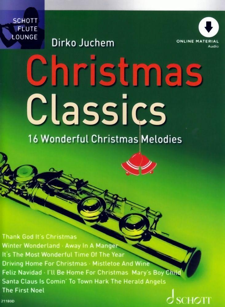 Noten Christmas classics Weihnachten für Querflöte incl.download Code ED 21180D