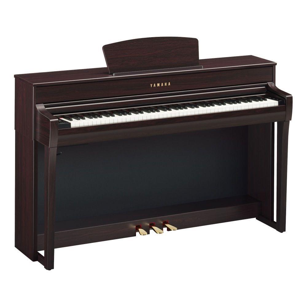 Yamaha CLP-735R Digitalpiano Rosenholz, E-Piano Yamaha mit GH3X-Tastatur
