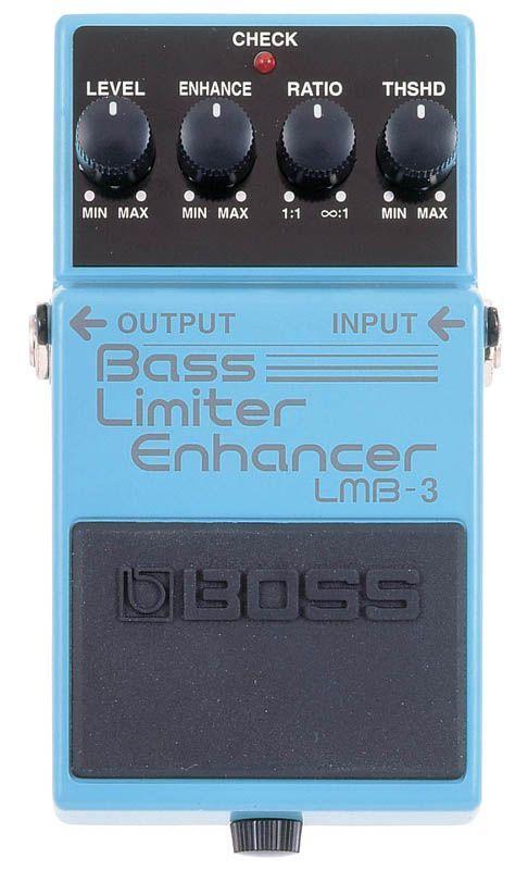 Boss LMB-3 Bass Limiter, Effektgerät für E-Bass