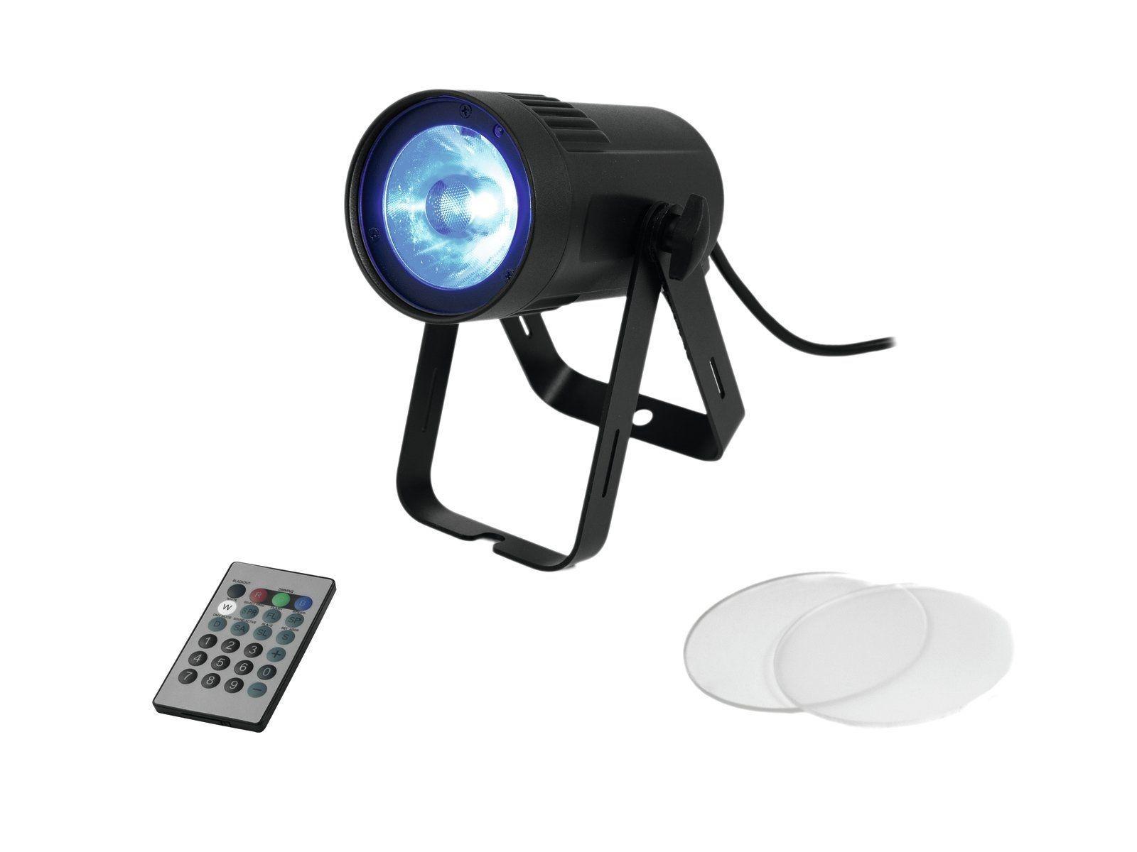 EUROLITE LED PST-15W MK2 COB RGBW Pinspot mit 15-W-COB-LED