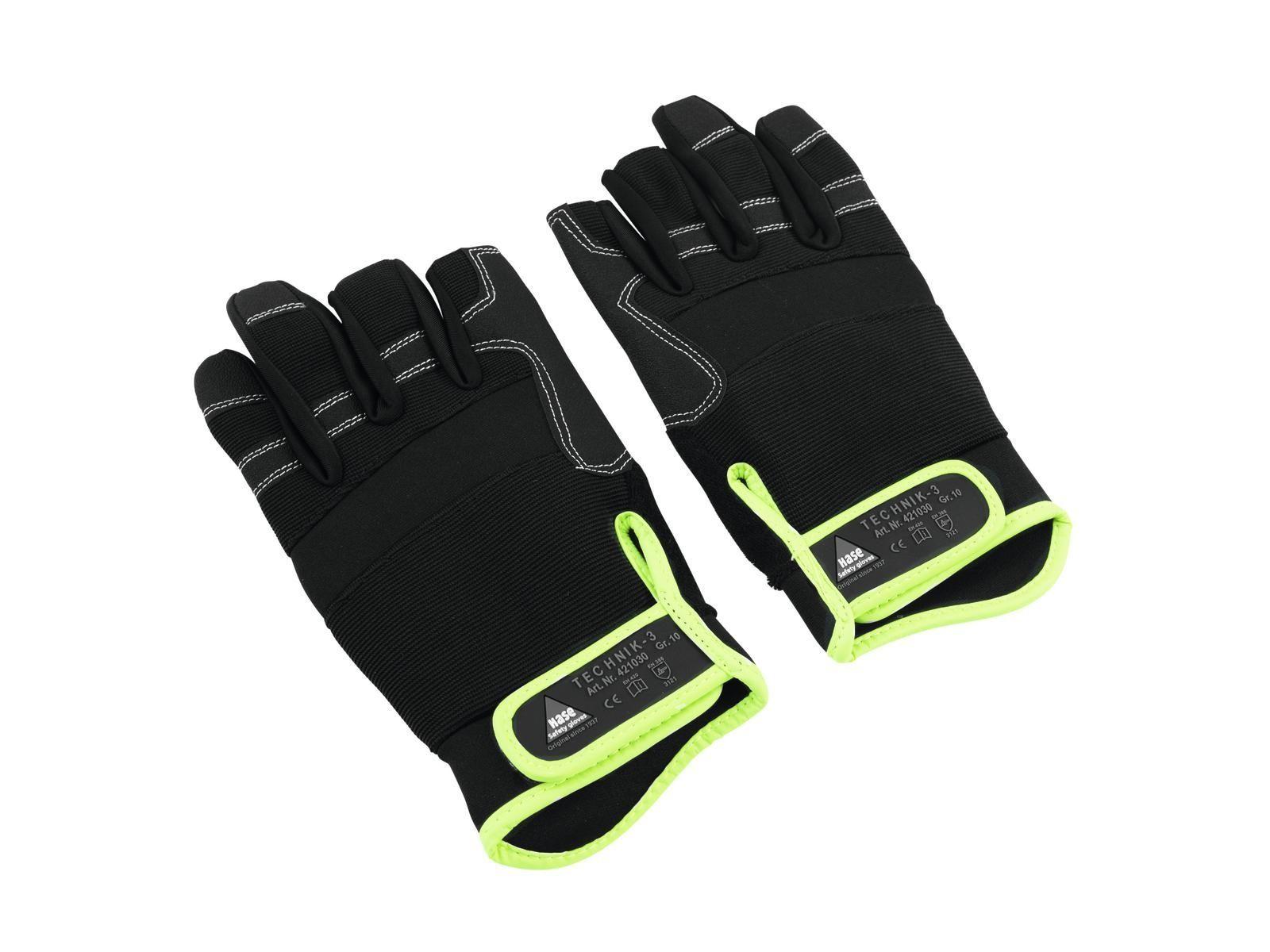 HASE Handschuhe 3 Finger, Größe M   Roadie-Handschuhe