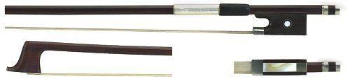 GEWA Violinbogen 4/4 Brasilholz Schul-Bogen, kantige Stange, Violine