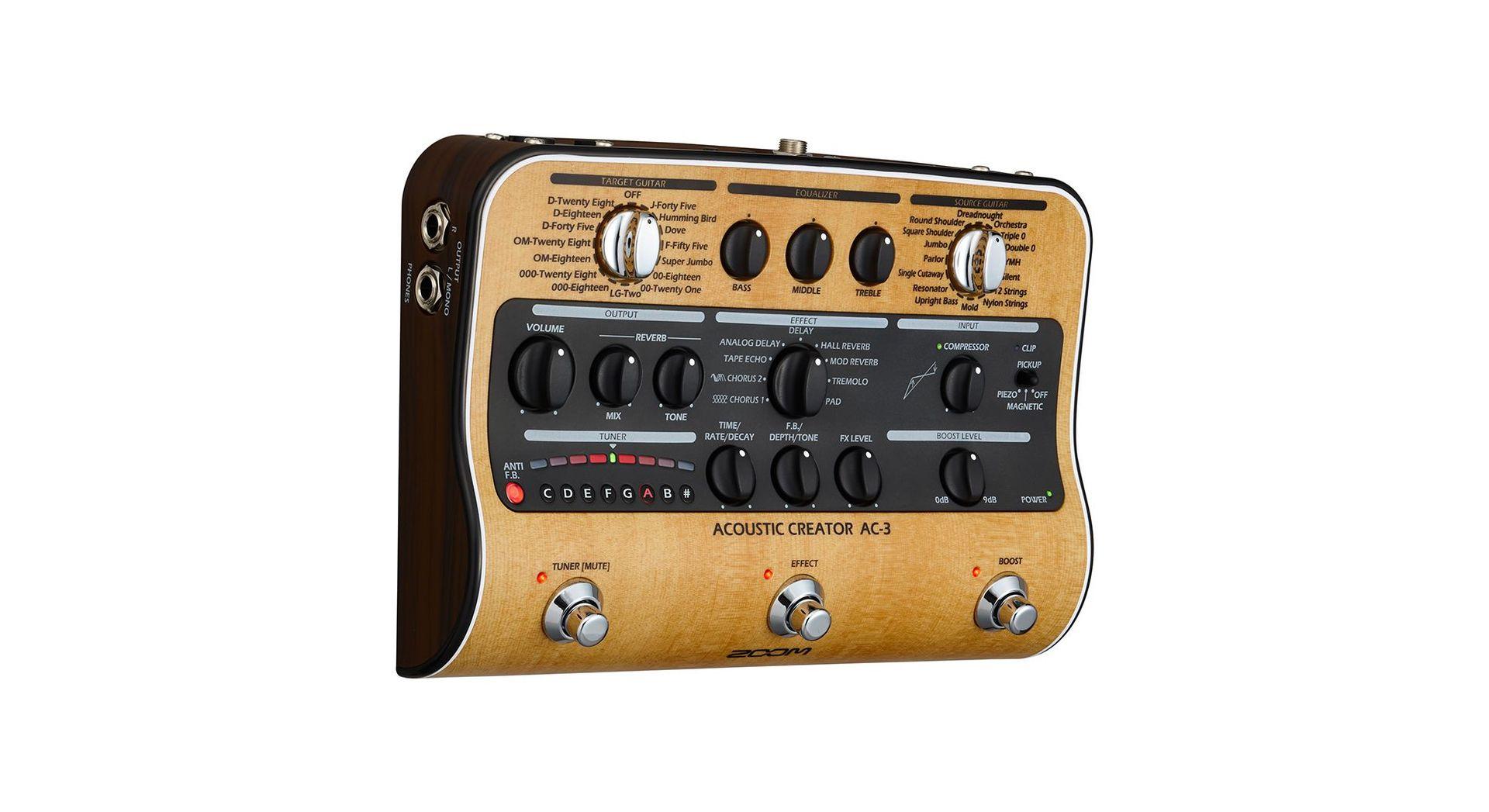 Zoom AC-3 Akustikgitarreneffekt