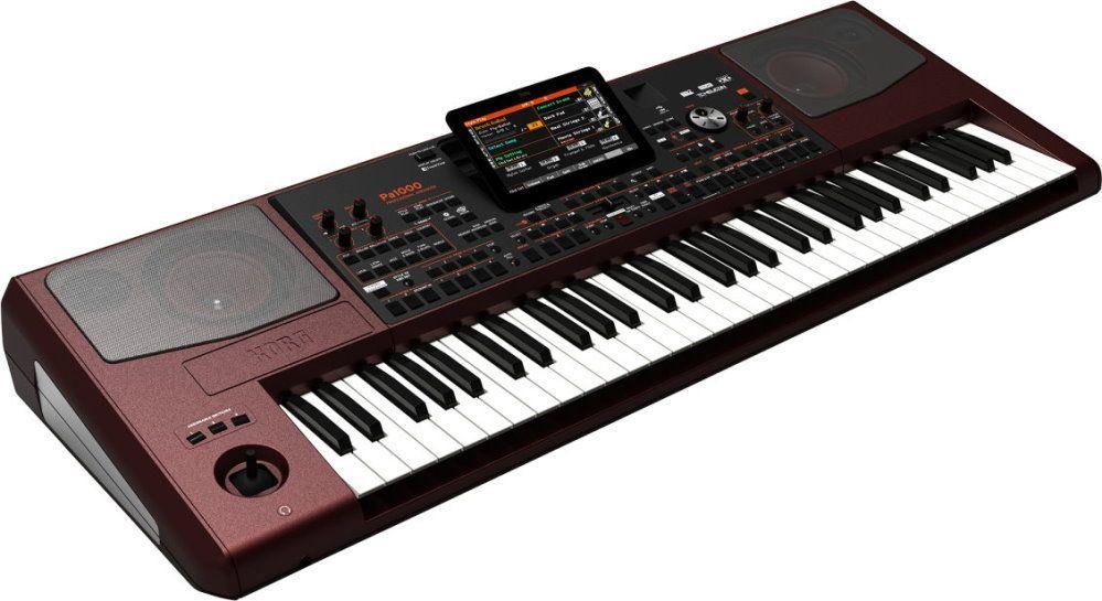 Korg PA-1000 Entertainer-Workstation mit über 430 Styles,über 1152 Sounds,PA1000