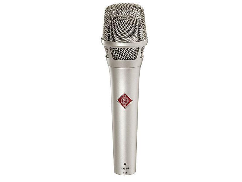 Neumann KMS 105 Ni Gesangsmikrofon, Kondensator, Superniere, silber