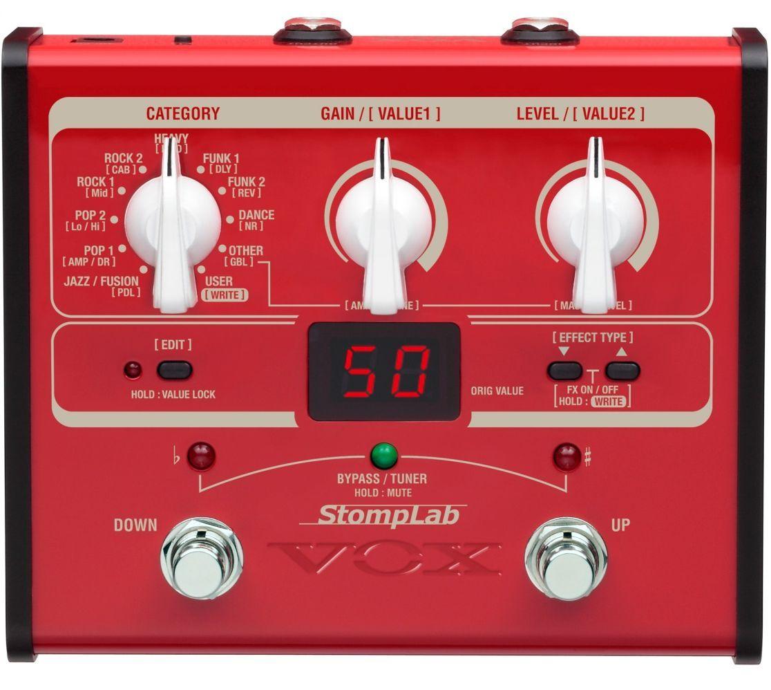 Vox StompLab IB, Multieffektgerät für E-Bass