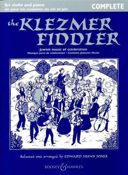 Noten the klezmer fiddler Violine & Piano & Begleitung Boosey BH 12411