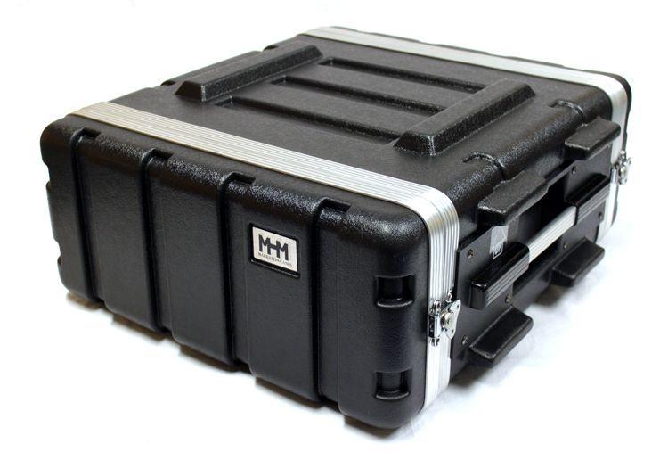 "19"" Rack, 4 HE, MHM SKB-kompatibel, aus ABS Kunststoff"