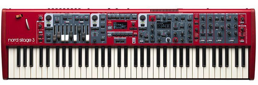 Clavia Nord Stage 3 Compact Synthesizer mit 73 halbgewichteten Tasten