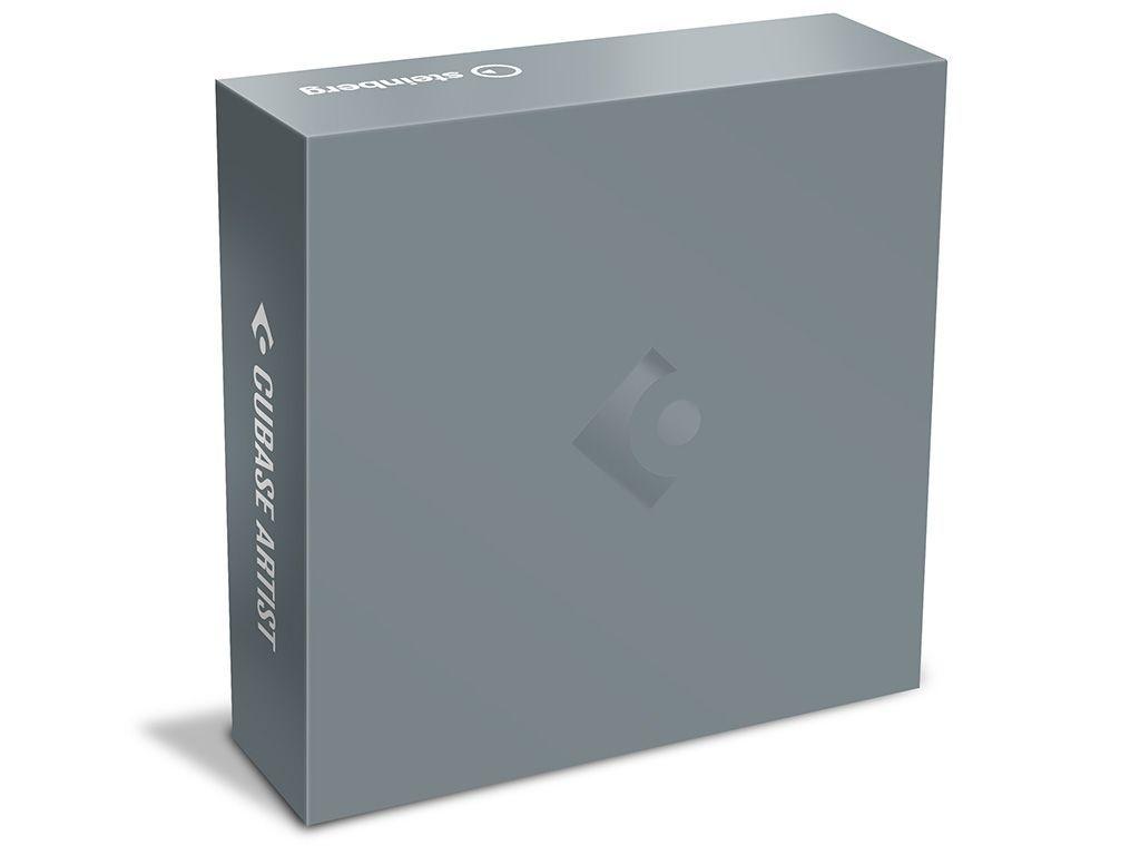 Steinberg Cubase Artist 10 Software m.virtuellen Instrumenten und Sound-Presets