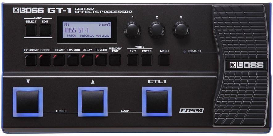 Boss GT-1 Multieffektgerät für E-Gitarre