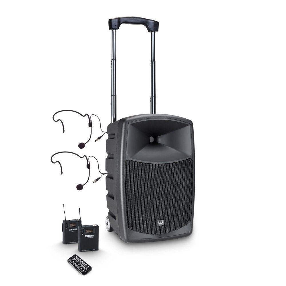 LD Systems Roadbuddy 10 BPH 2 Akkubetriebene Bluetooth-Lautsprecherbox