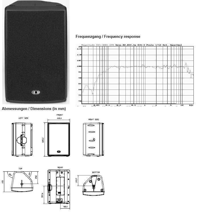 Dynacord D 15-3 D-Lite  Box-PA