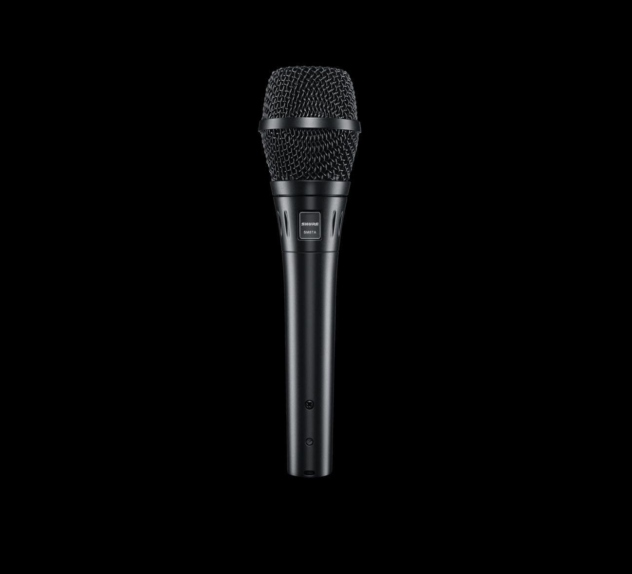 Shure SM87A  Kondensatormikrofon mit Superniere für Gesang