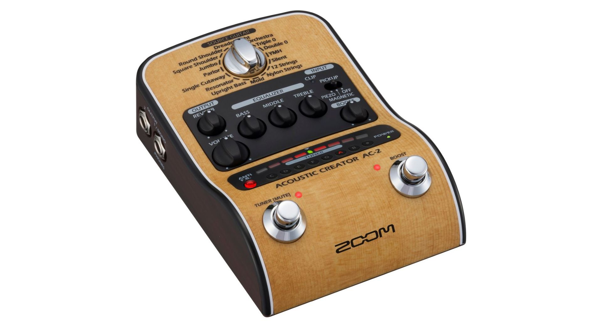 Zoom AC-2 Akustikgitarreneffekt