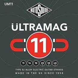 Rotosound ULTRAMAG UM11 E-Gitarren Saiten 11-48