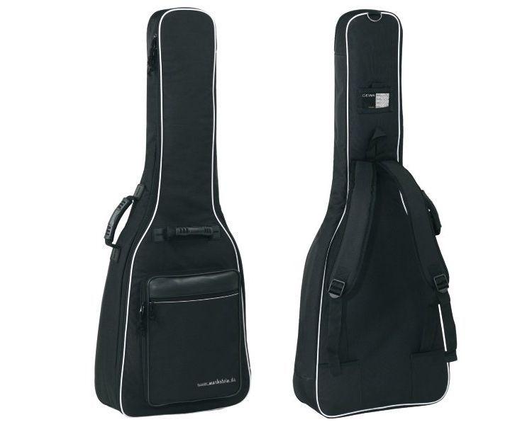GEWA Economy Gigbag für Konzertgitarre 4/4, mit 12 mm Polsterung, schwarz