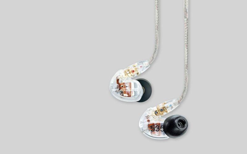 Shure SE535-CL 3-Wege Stereo InEar Hörer Farbe: transparent