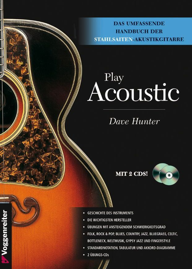 Noten play acoustic - Dave Hunter Voggenreiter 0609