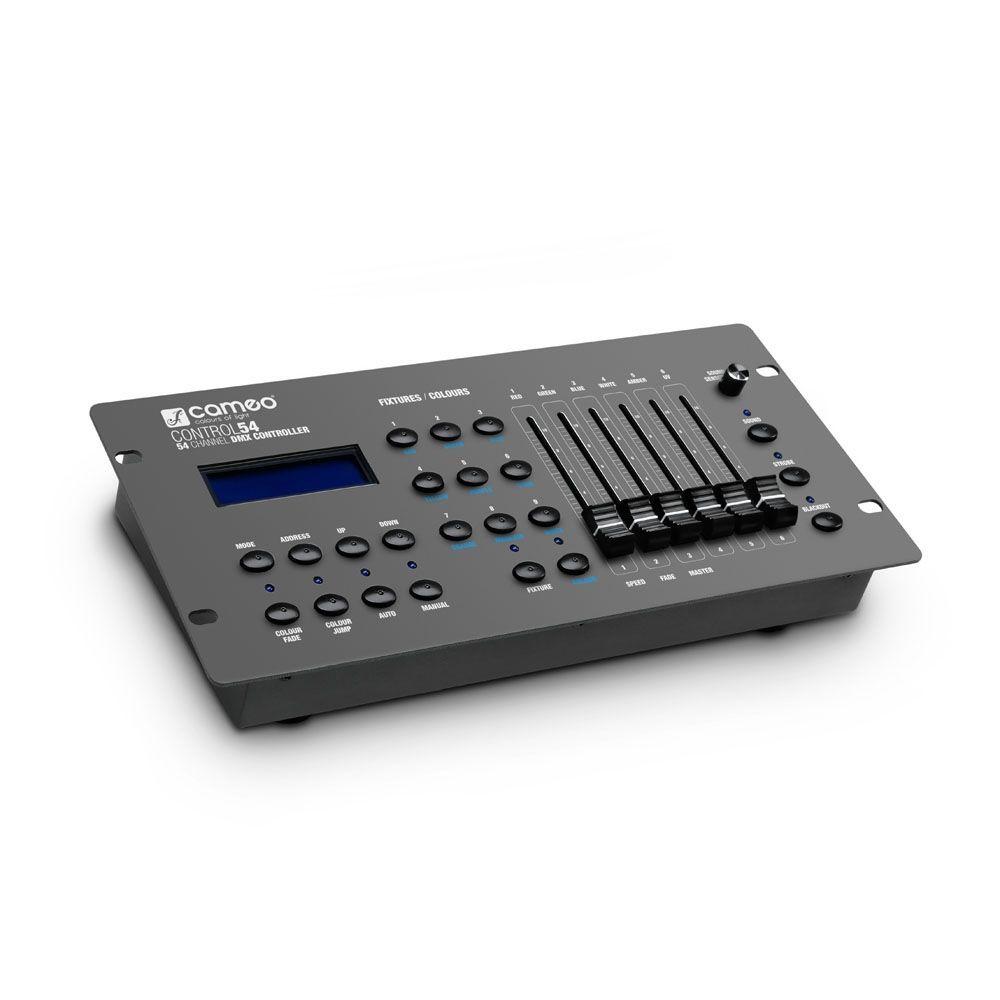 Cameo CONTROL 54 DMX Controller 54-Kanal Lichtmixer