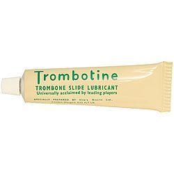 Trombotine, Das bewährte Posaunen- Zugfett