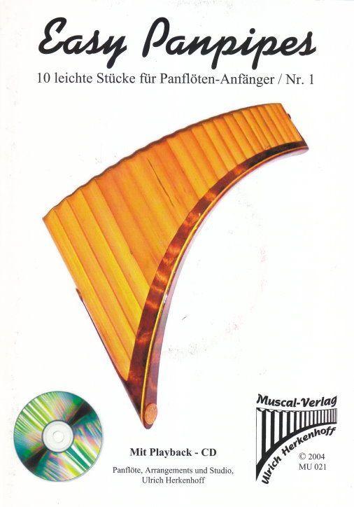 Noten Easy Panpipes 10 leichte Stücke für Anfänger Herkenhoff MU 021