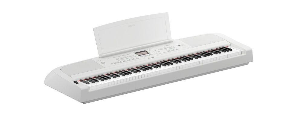 Yamaha DGX-670WH weiß Keyboard mit 88 Tasten, Begleitautomatik