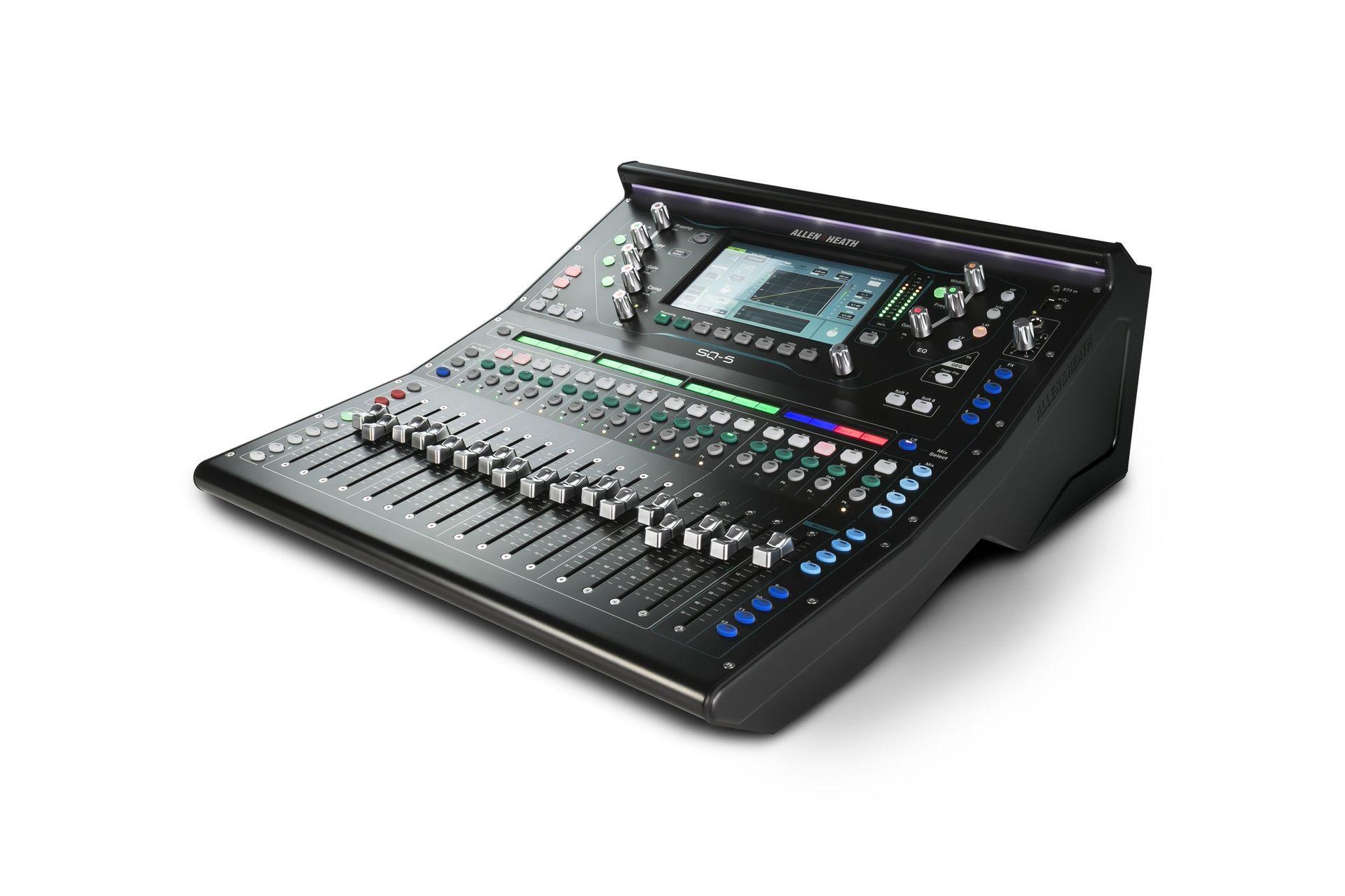 Allen&Heath SQ5 Digitalmixer für Live, Studio und Installation,  48 Kanal