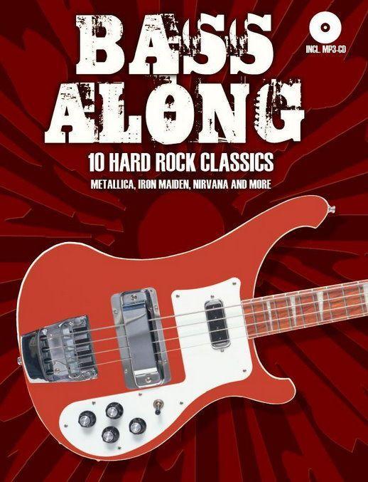 Noten Bass along 3 Buch & CD 10 Hard Rock classics BoE Bosworth 7618