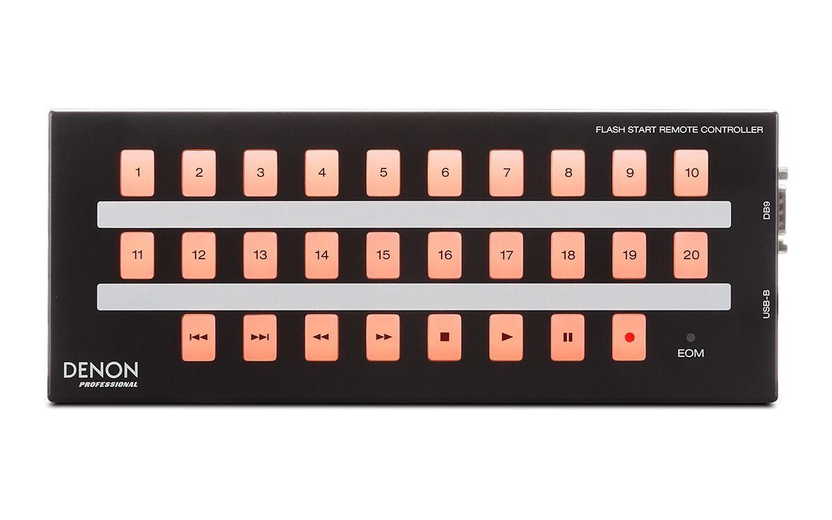 Denon Flash Start Remote  RS-232C-Fernbedienung