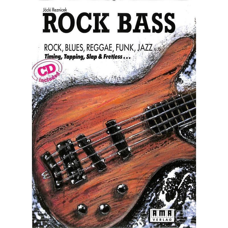 Noten Rock Bass von Jäcki Reznicek ISBN 3-927190-05-5  610108 Markstein