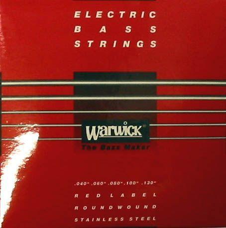 Warwick E-Bass Saiten Red Label Stainless 5-Str. 045-135