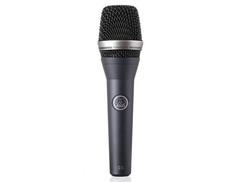 AKG C 5 Gesangsmikrofon, Kondensatormikrofon, Niere, antrazit