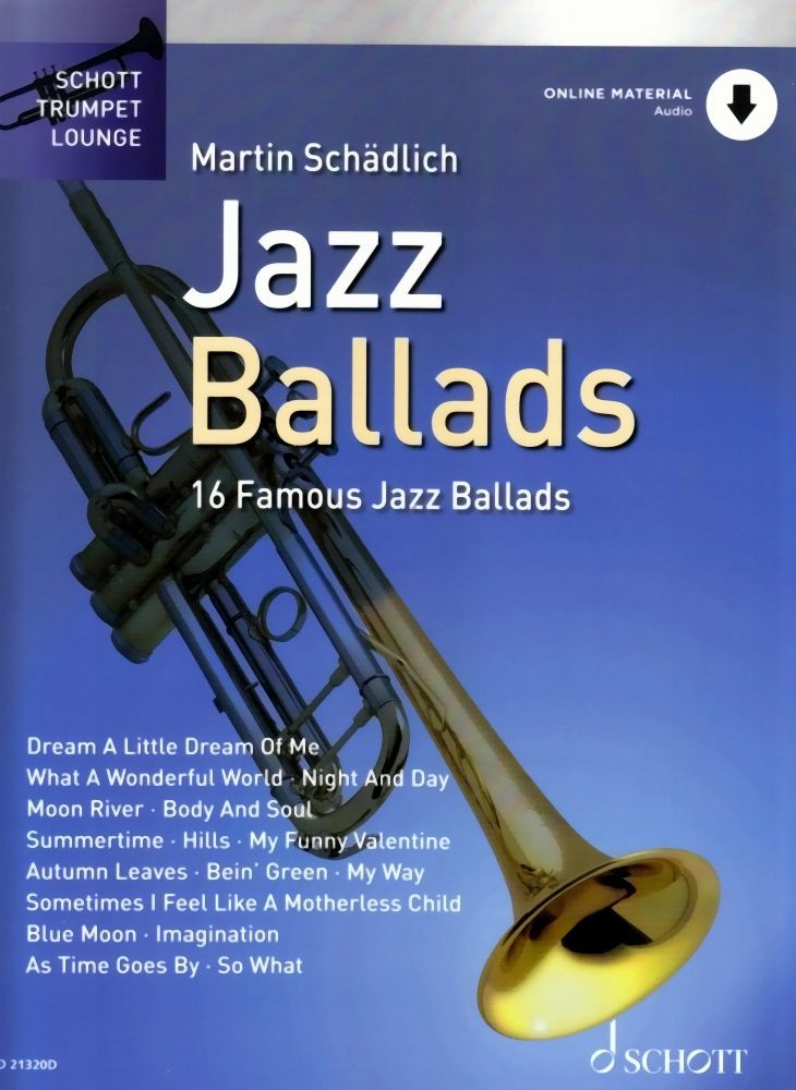 Noten JAZZ BALLADS 1 ED Schott 21320D incl. downloadcode Martin Schädlich