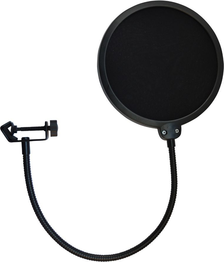 TIE Studio Professioneller Nylon-Mikrofon-Popschutz in Studioqualität