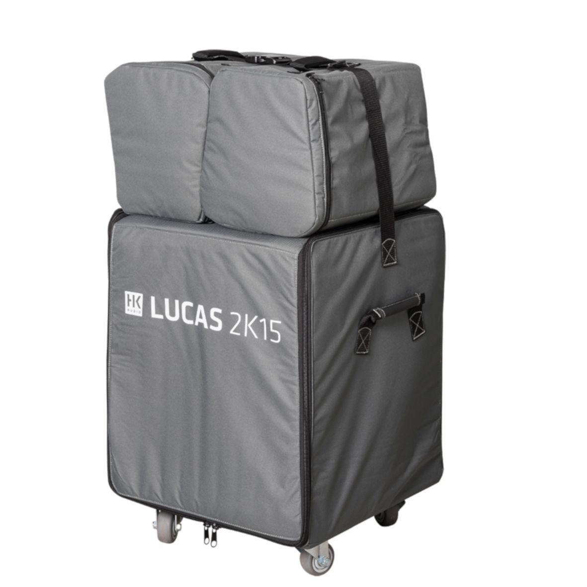 HK Audio Lucas 2K15 Roller Bag Schutzhüllen SET mit Rollbrett