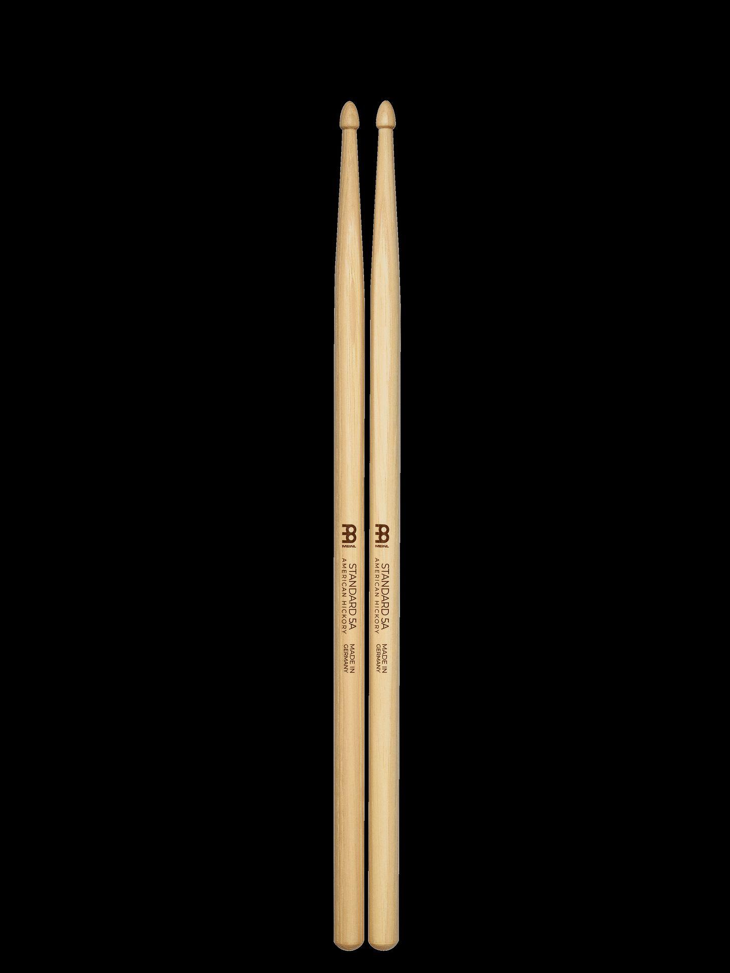 Meinl 5A Standard Drumsticks Hickory