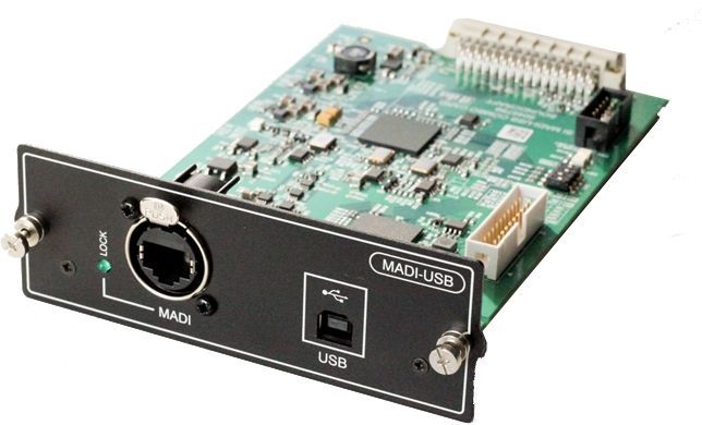 Soundcraft MADI-USB Combo-Card für Si Compact/Expression/Performer