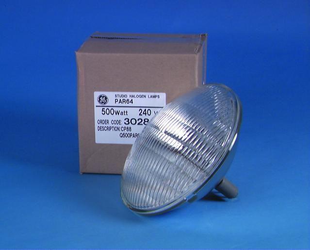 General Electric GE CP88, 230V/500W MFL Glühbirne für Lampe PAR-64