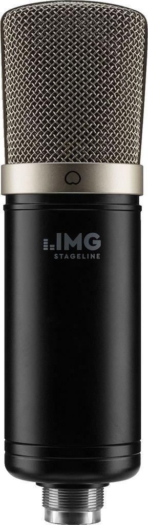 IMG Stage Line ECMS-50USB USB-Großmembran-Kondensator-Mikrofon inkl. Spinne