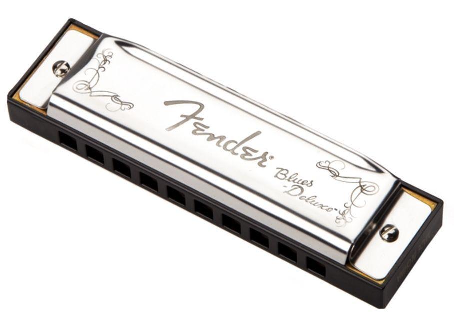 Fender Blues DeLuxe Harmonica C-Dur /20 Mundharmonika incl. Etui