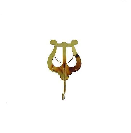 Marschgabel Riedl 312 Saxophon / Tenorhorn / Bariton Messing, kleine Lyra,