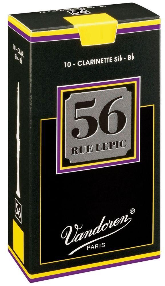 Vandoren 56 Rue Lepic Blatt B-Klarinette 3,0  Böhm System, konischer Schnitt