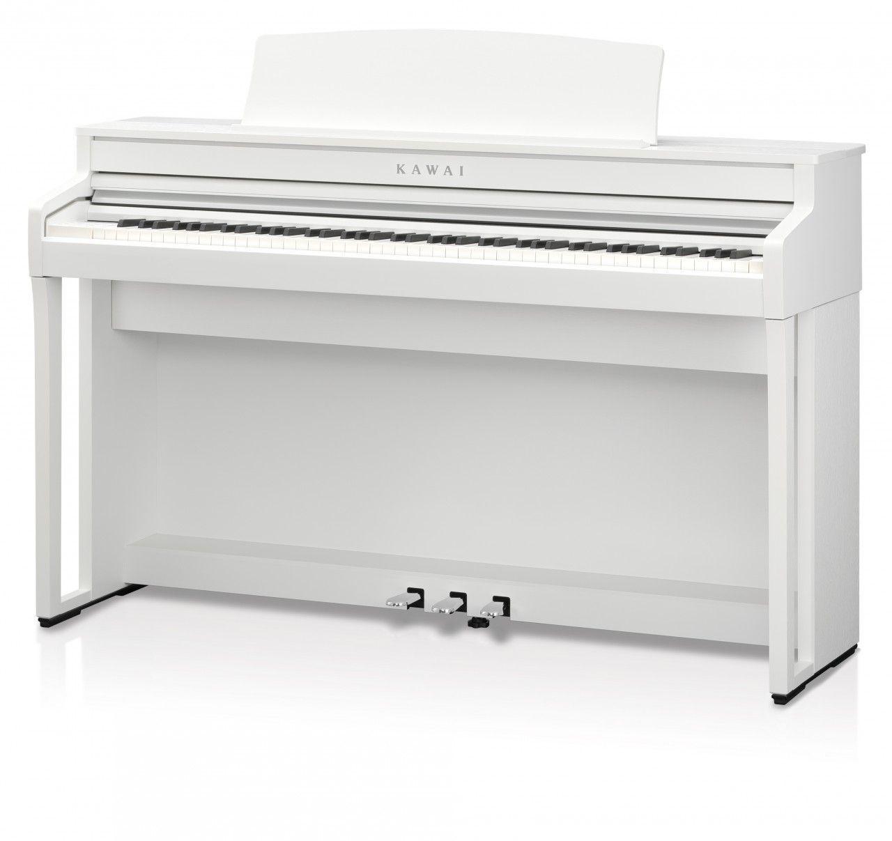 KAWAI CA-59 W Digitalpiano weiß matt, neue Grand Feel Compact Mechanik, CA59W