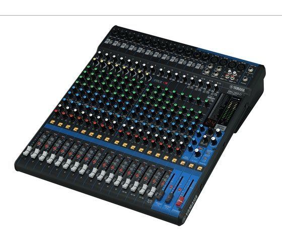 """Yamaha MG20 XU Mixer 19"""", SPX Effekt, USB, 16 Mikrofoneingänge, 4 Stereoeingänge"""