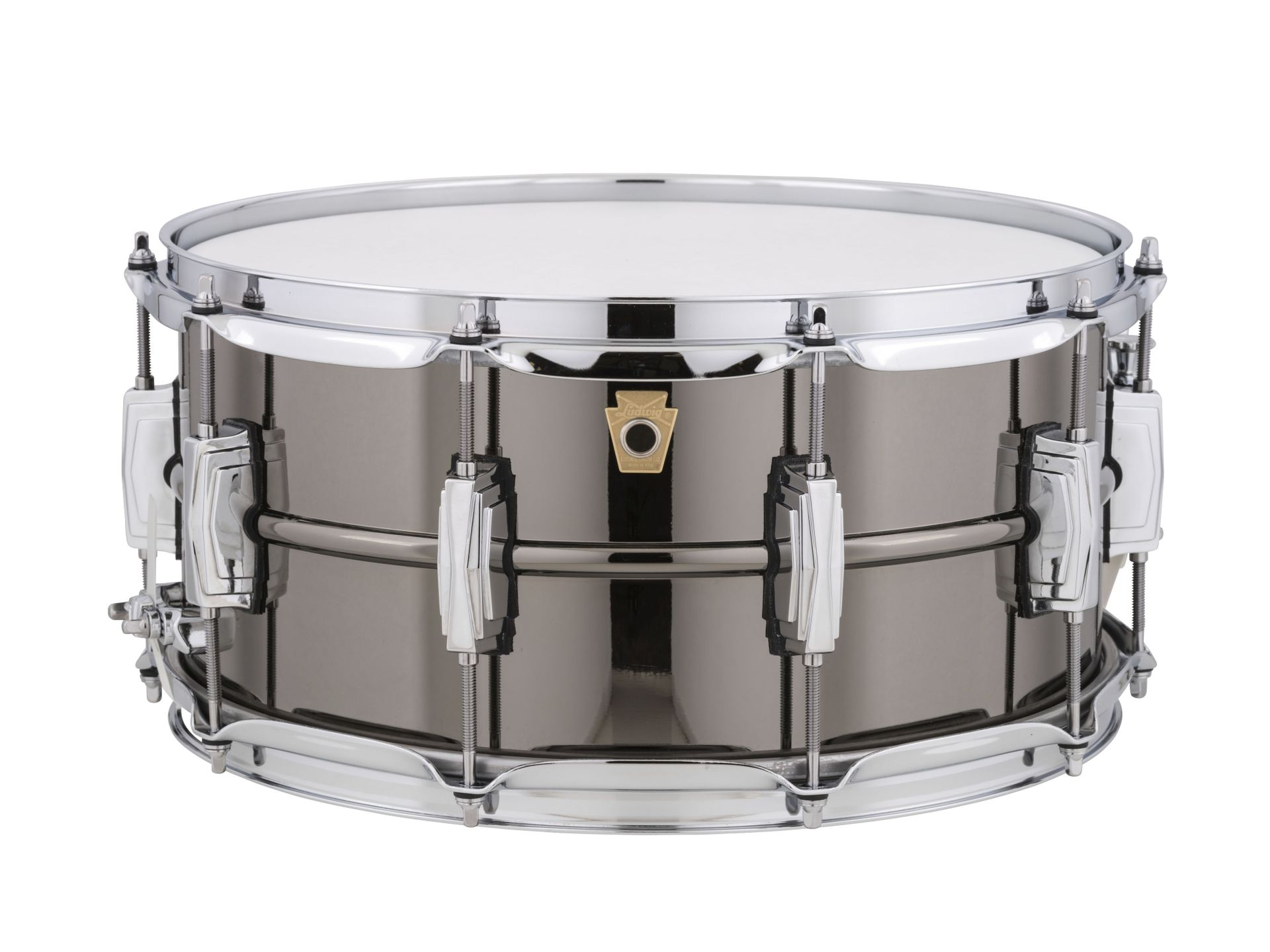 """Ludwig Black Beauty Snare Drum 14"""" x 6,5"""" LB417"""