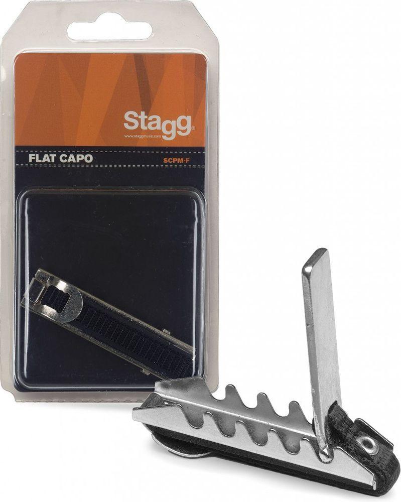 Stagg Kapodaster für gerades Griffbrett SCPM-F