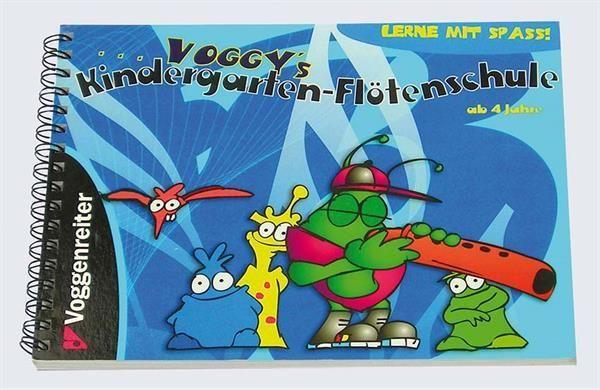 Noten Voggy's Kindergarten Flötenschule Voggenreiter 0432-0 Martina Holtz