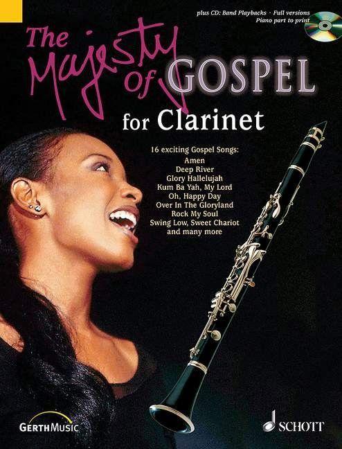 Noten Majesty Gospel Clarinet Klarinette incl. CD Ed Schott ED 9697