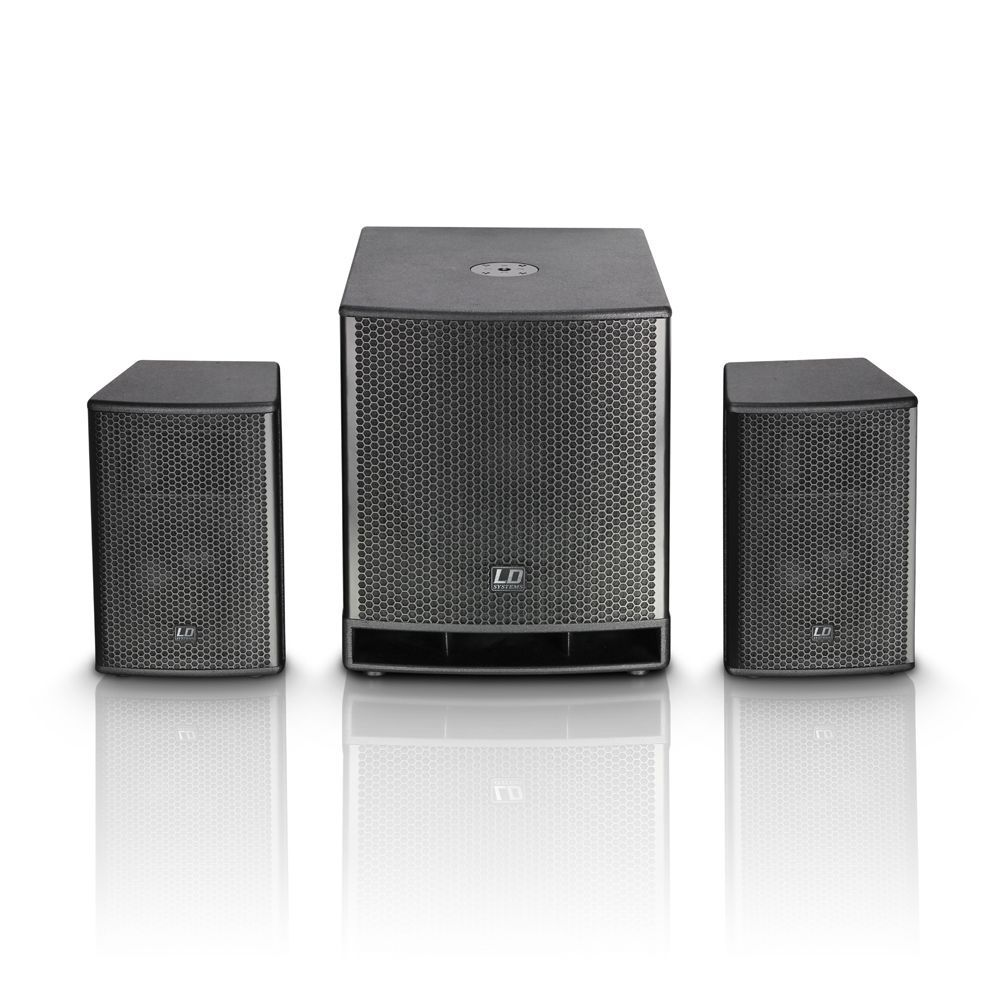 LD Systems Dave 15 G3 PA-System mit 2 Class A/B Endstufen,  LDDAVE15G3